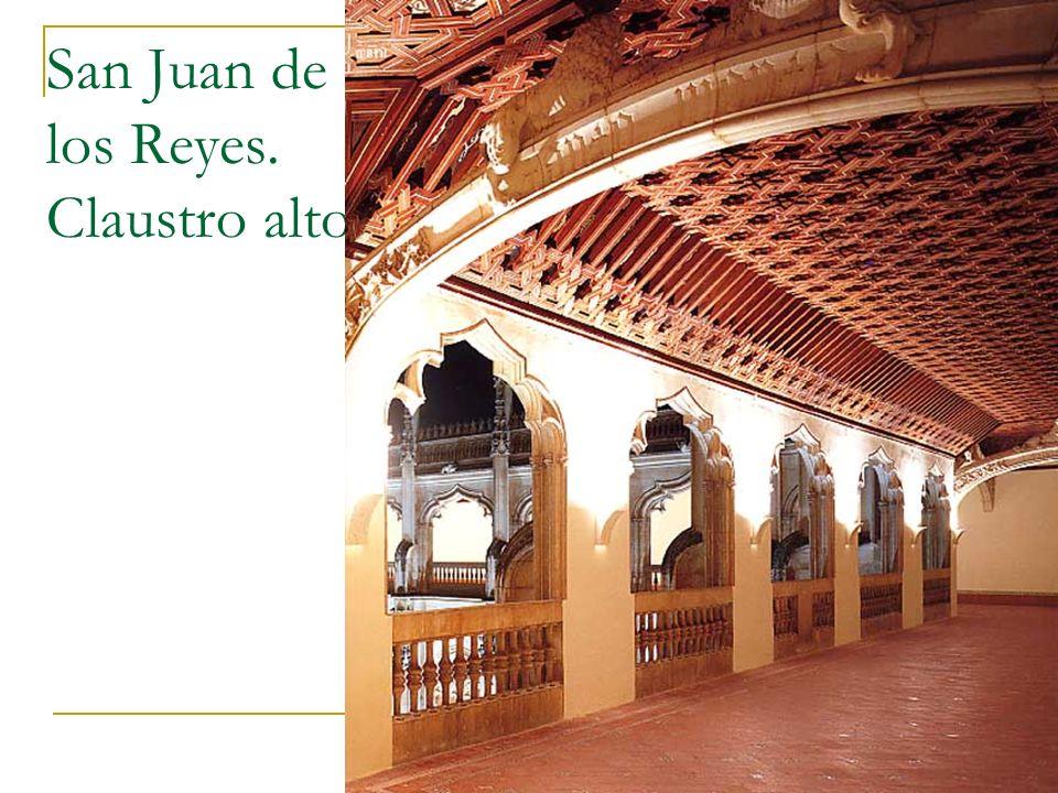 Gótico 74 San Juan de los Reyes. Claustro alto.
