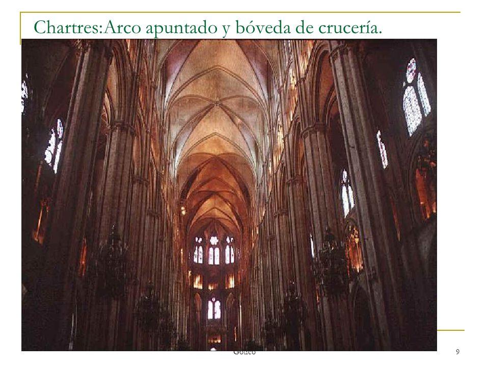 Gótico 20 S. XIV: Santa Mª del Mar/ Catedral de Toledo