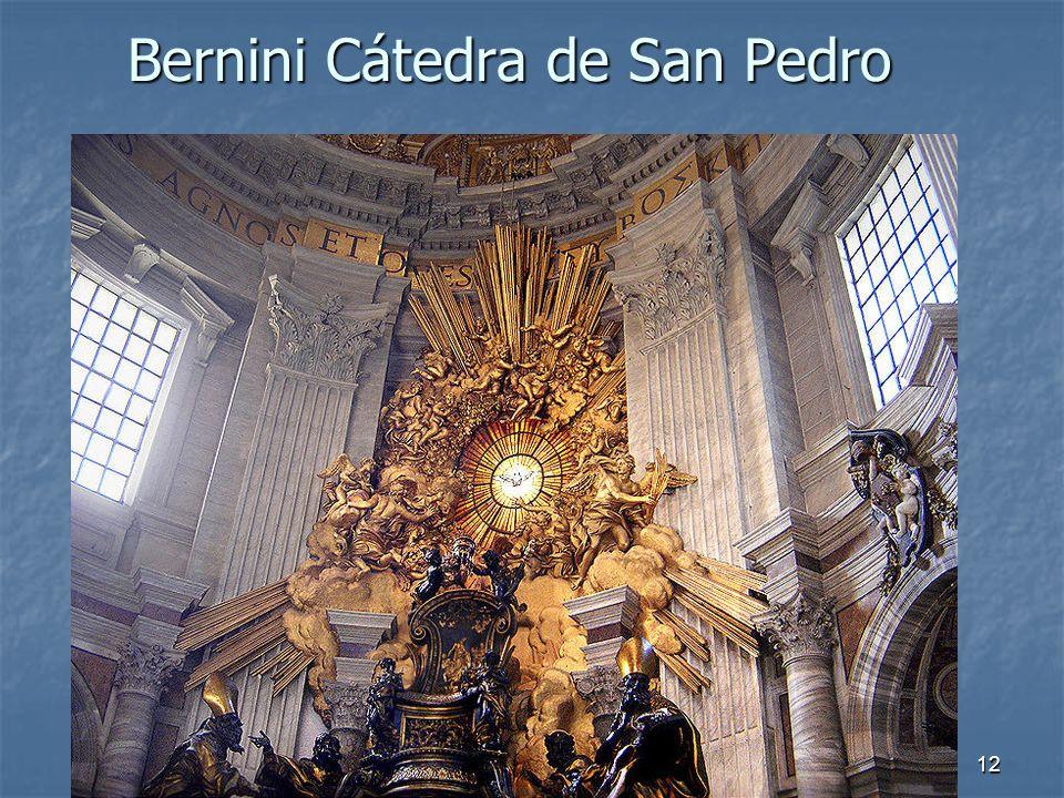 Arte Barroco12 Bernini Cátedra de San Pedro