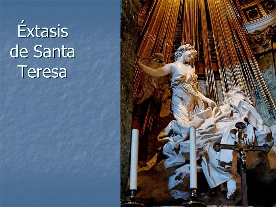 Arte Barroco15 Éxtasis de Santa Teresa