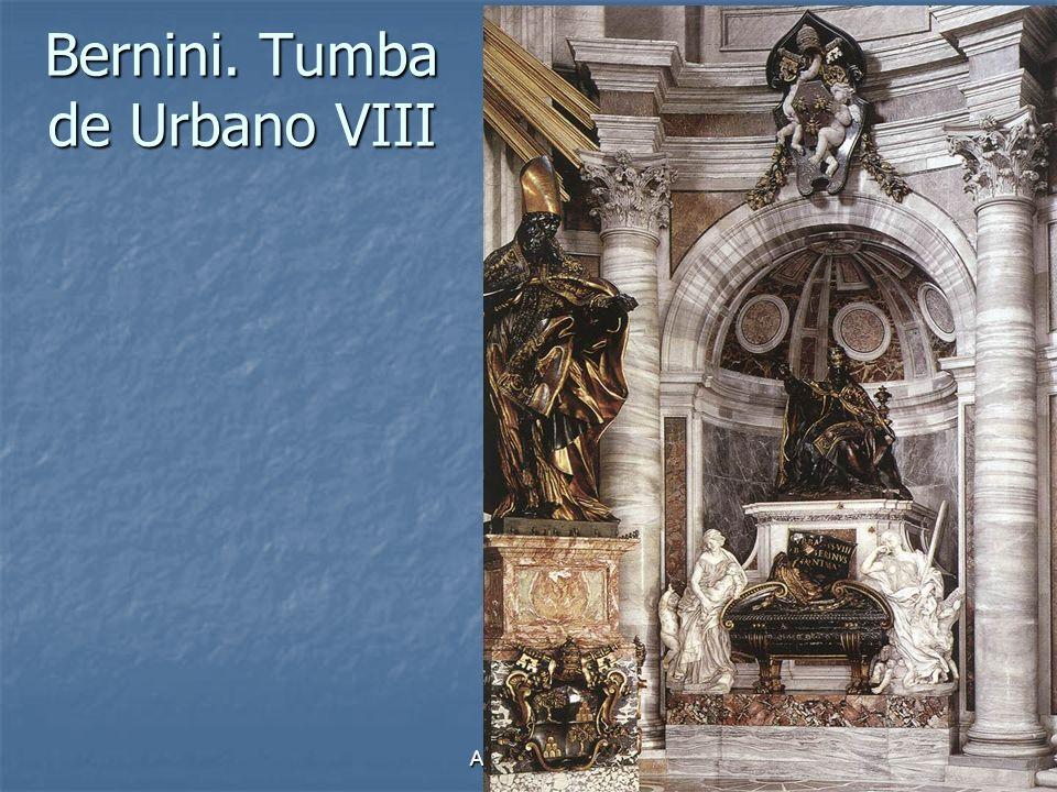 Arte Barroco21 Bernini. Tumba de Urbano VIII