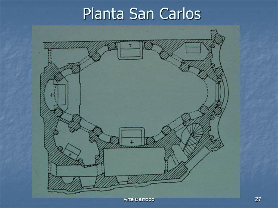 Arte Barroco27 Planta San Carlos Planta San Carlos