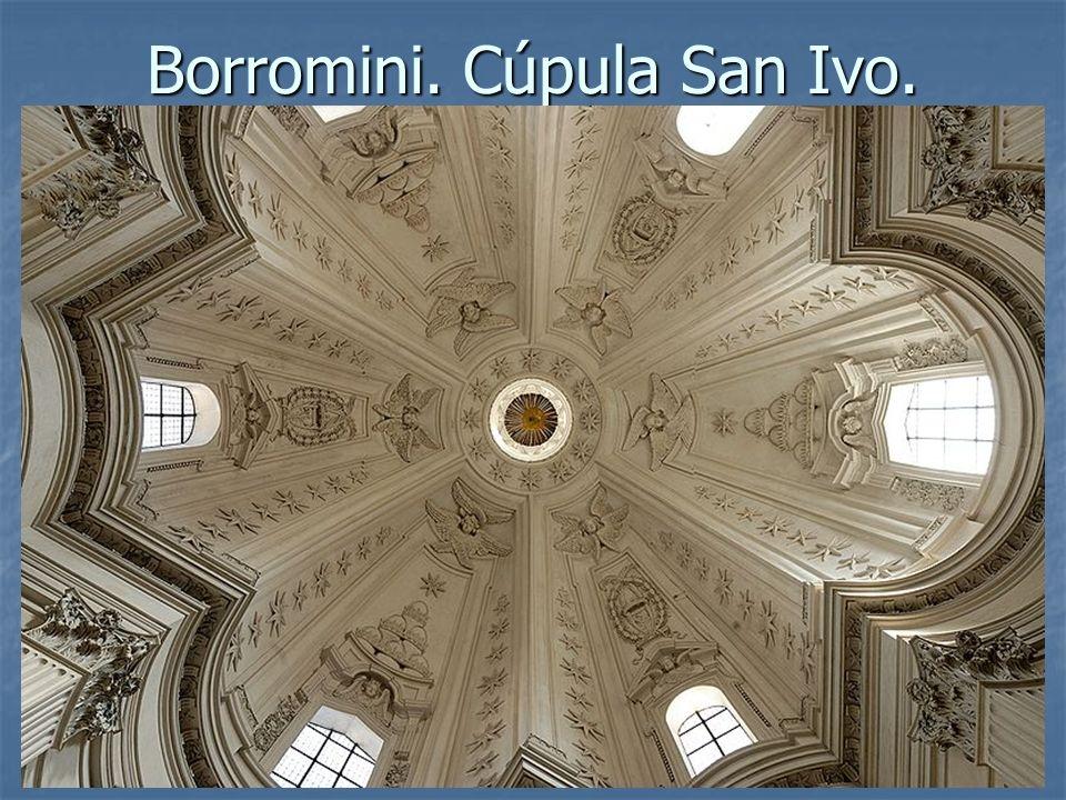 Arte Barroco37 Borromini. Cúpula San Ivo.