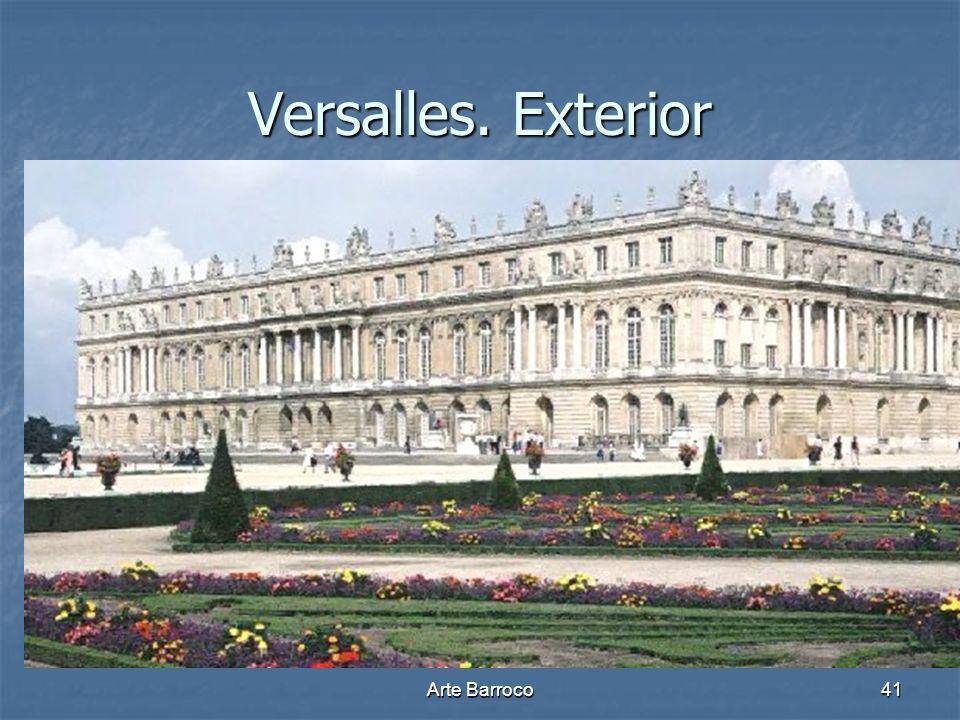 Arte Barroco41 Versalles. Exterior