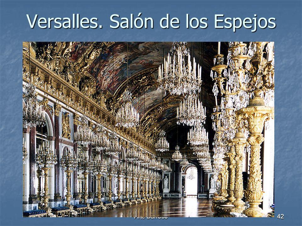 Arte Barroco42 Versalles. Salón de los Espejos