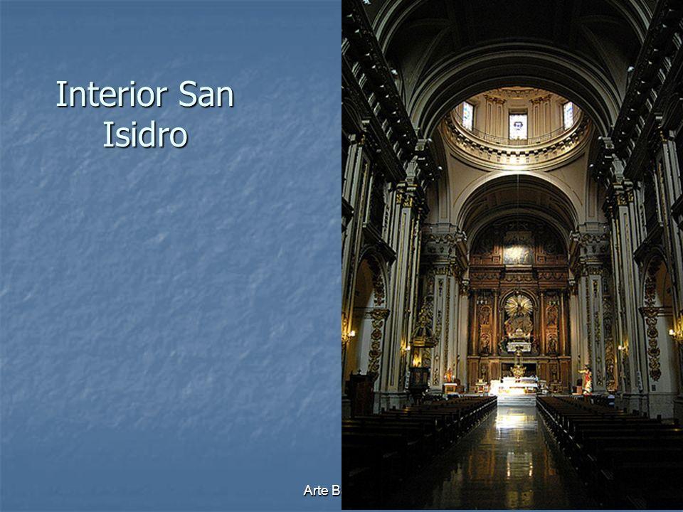 Arte Barroco47 Interior San Isidro