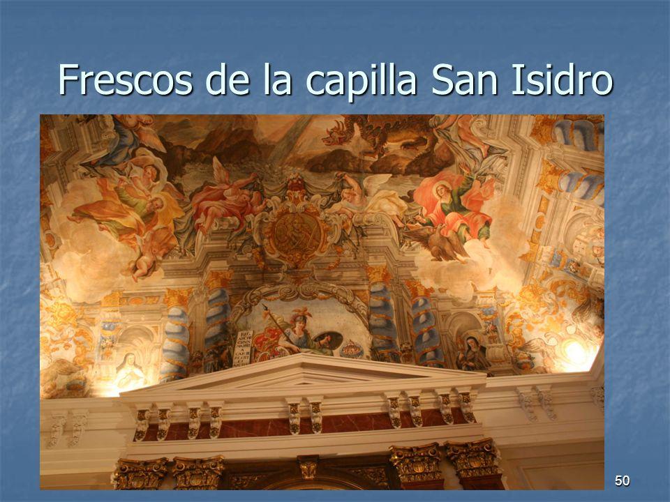 Arte Barroco50 Frescos de la capilla San Isidro