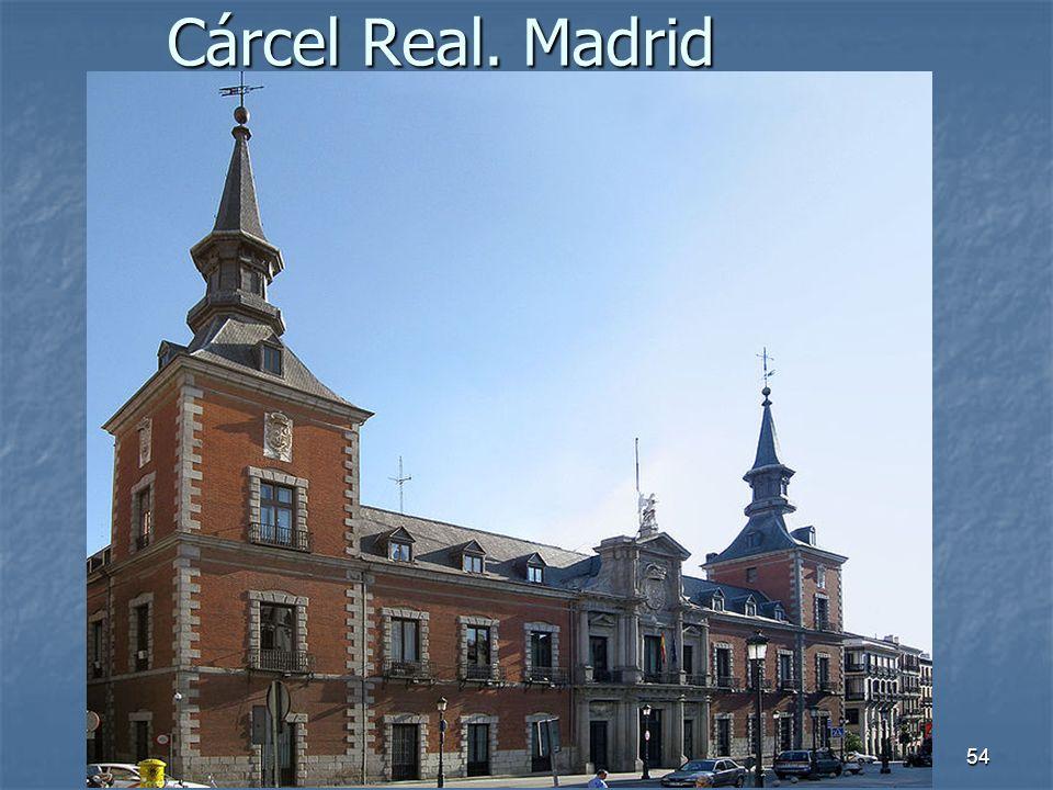 Arte Barroco54 Cárcel Real. Madrid