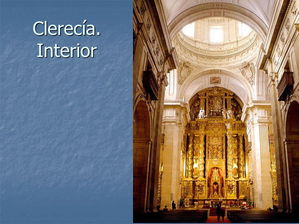 Arte Barroco59 Clerecía. Interior