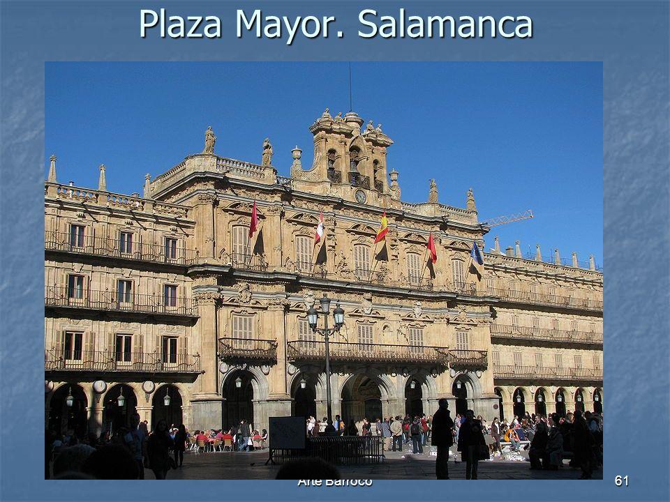 Arte Barroco61 Plaza Mayor. Salamanca