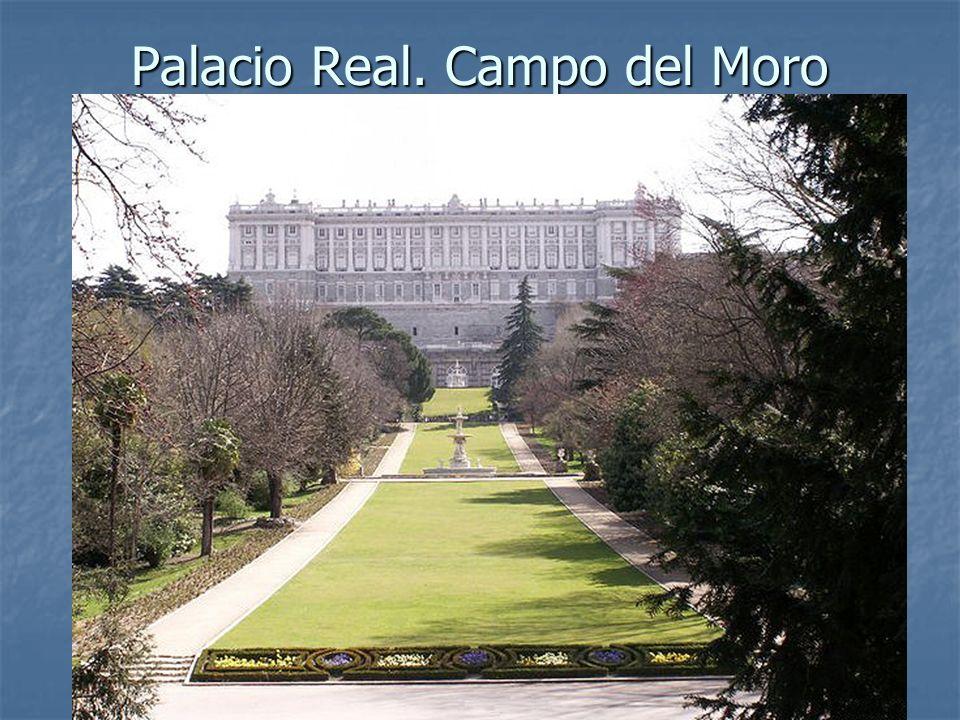 Arte Barroco73 Palacio Real. Campo del Moro