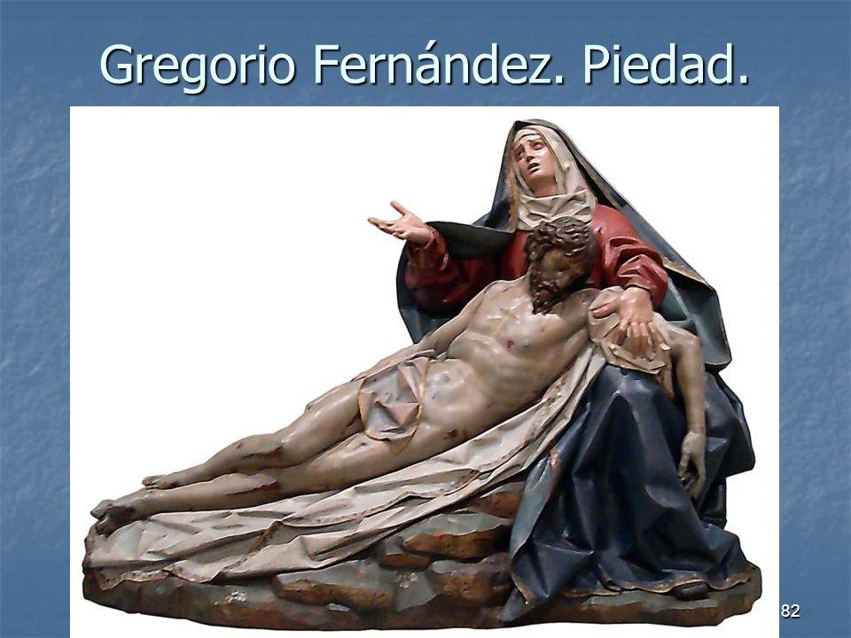 Arte Barroco82 Gregorio Fernández. Piedad.