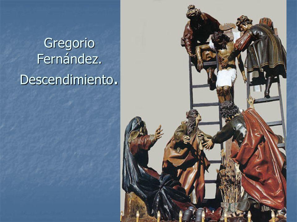 Arte Barroco83 Gregorio Fernández. Descendimiento.