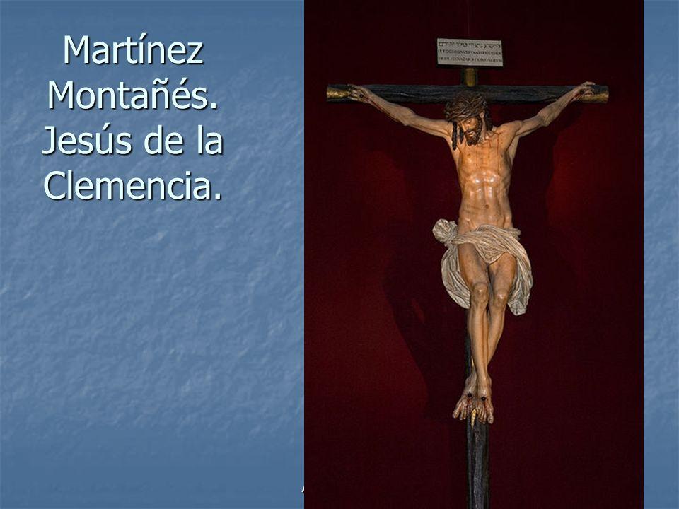 Arte Barroco86 Martínez Montañés. Jesús de la Clemencia.