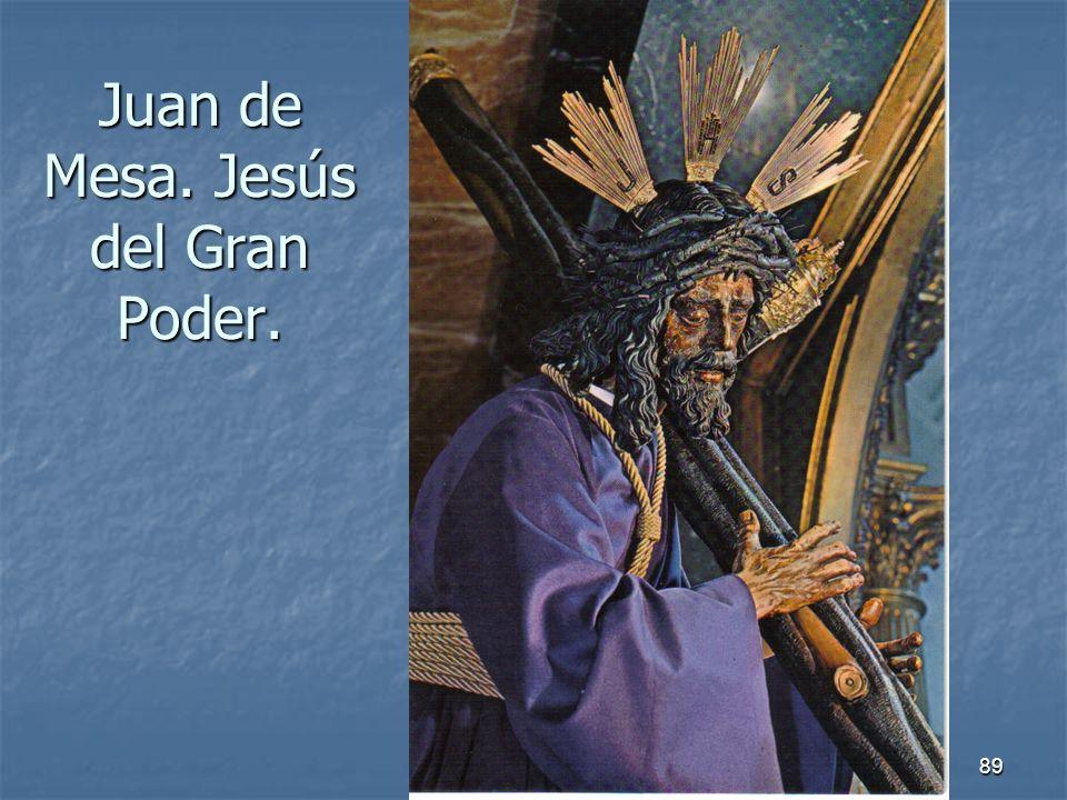 Arte Barroco89 Juan de Mesa. Jesús del Gran Poder.