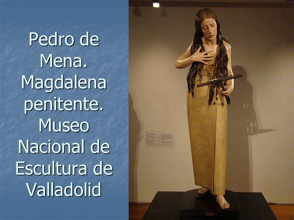 Arte Barroco94 Pedro de Mena. Magdalena penitente. Museo Nacional de Escultura de Valladolid