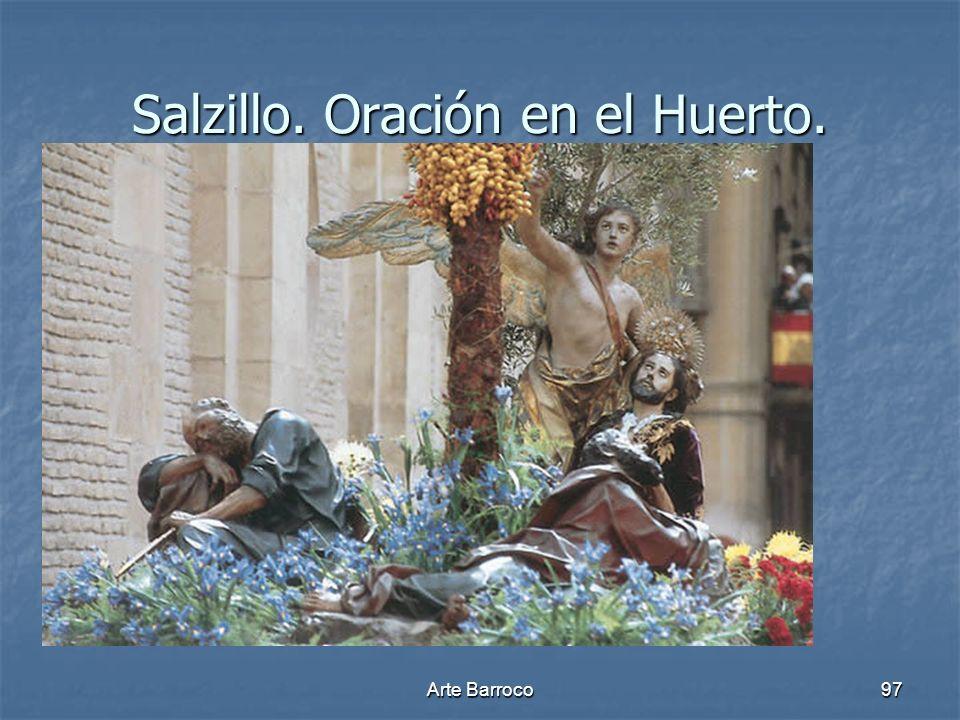 Arte Barroco97 Salzillo. Oración en el Huerto.