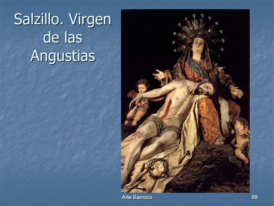 Arte Barroco99 Salzillo. Virgen de las Angustias