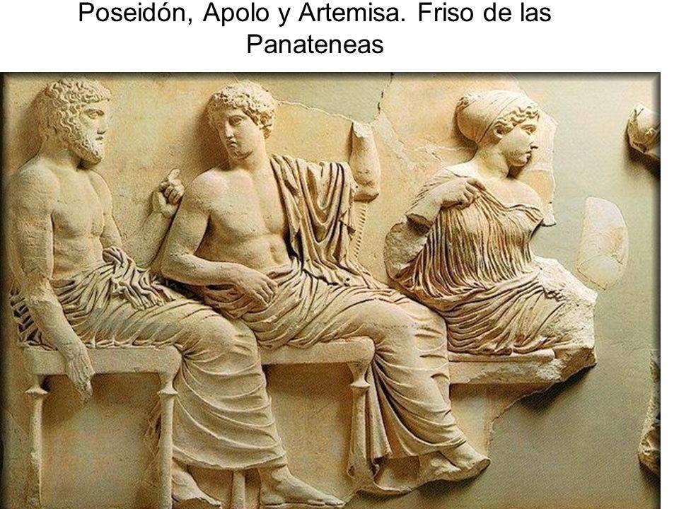 15/02/2014Pilar Morollón IES San Isidro102 Poseidón, Apolo y Artemisa. Friso de las Panateneas
