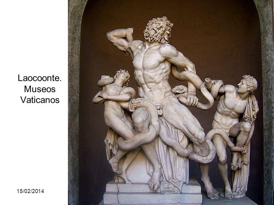 15/02/2014Pilar Morollón IES San Isidro117 Laocoonte. Museos Vaticanos