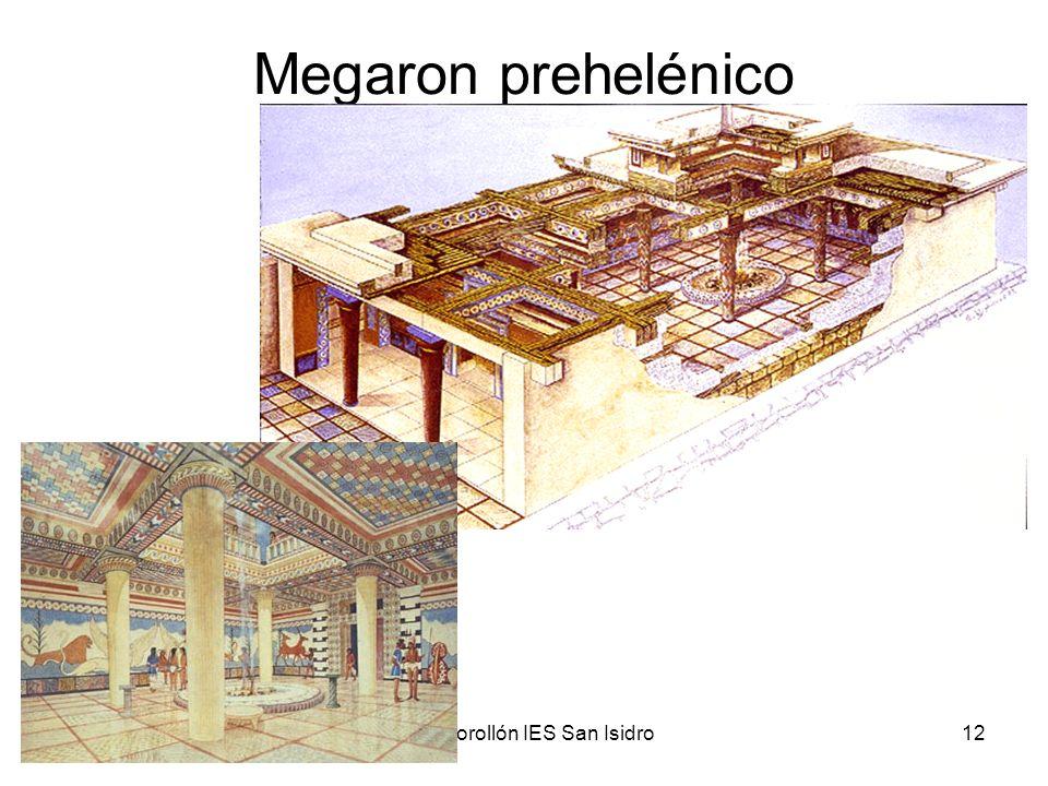 15/02/2014Pilar Morollón IES San Isidro12 Megaron prehelénico