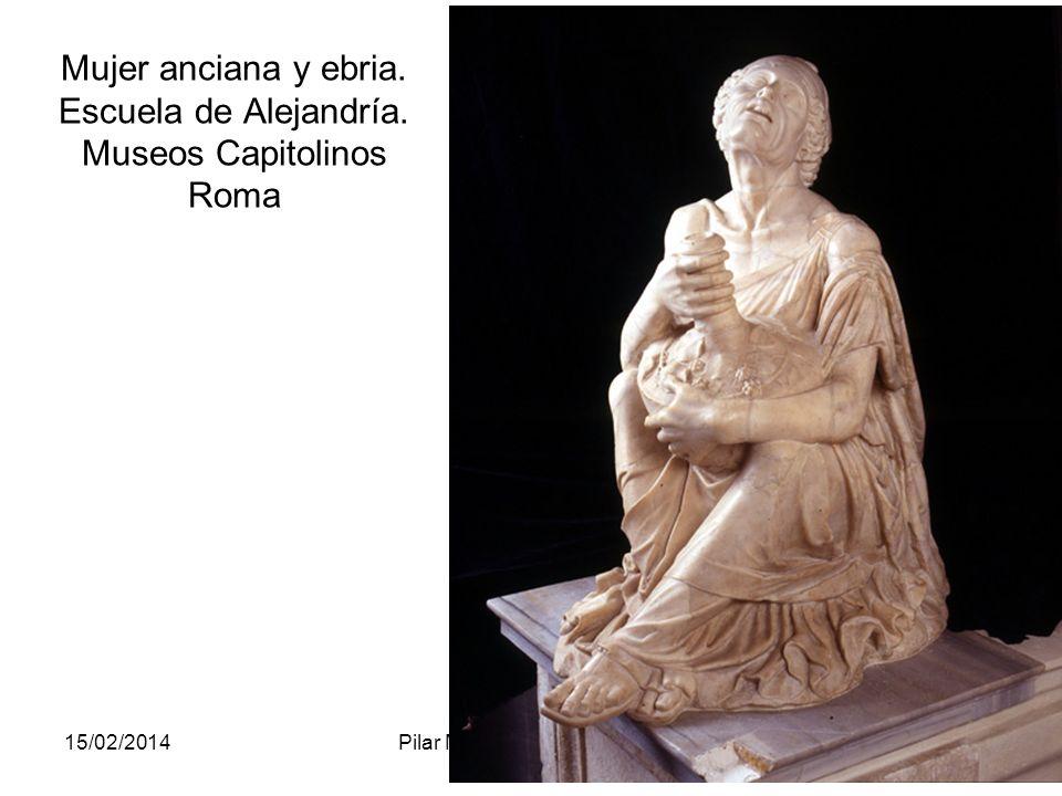15/02/2014Pilar Morollón IES San Isidro127 Mujer anciana y ebria. Escuela de Alejandría. Museos Capitolinos Roma