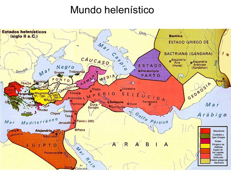 15/02/2014Pilar Morollón IES San Isidro17 Mundo helenístico
