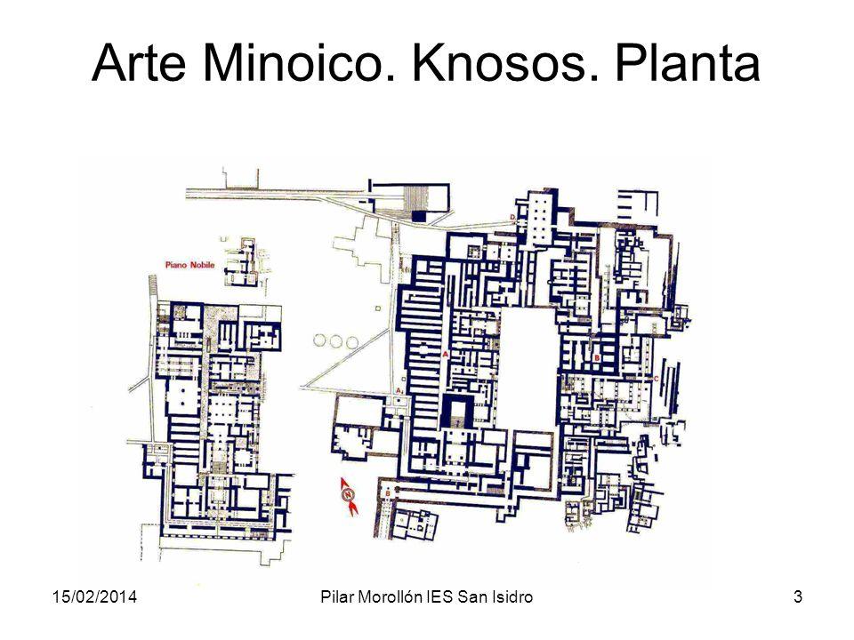 15/02/2014Pilar Morollón IES San Isidro3 Arte Minoico. Knosos. Planta