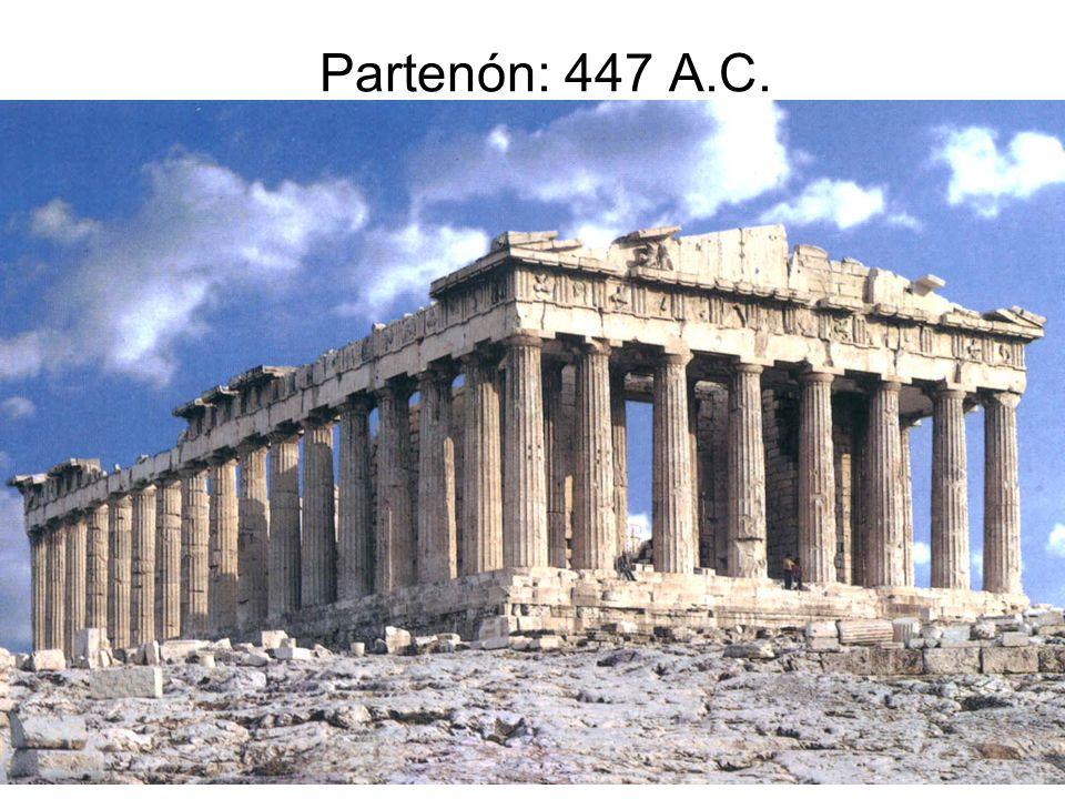 15/02/2014Pilar Morollón IES San Isidro45 Partenón: 447 A.C.