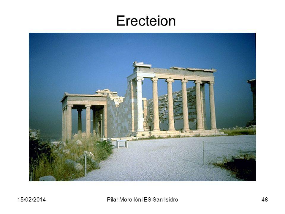 15/02/2014Pilar Morollón IES San Isidro48 Erecteion