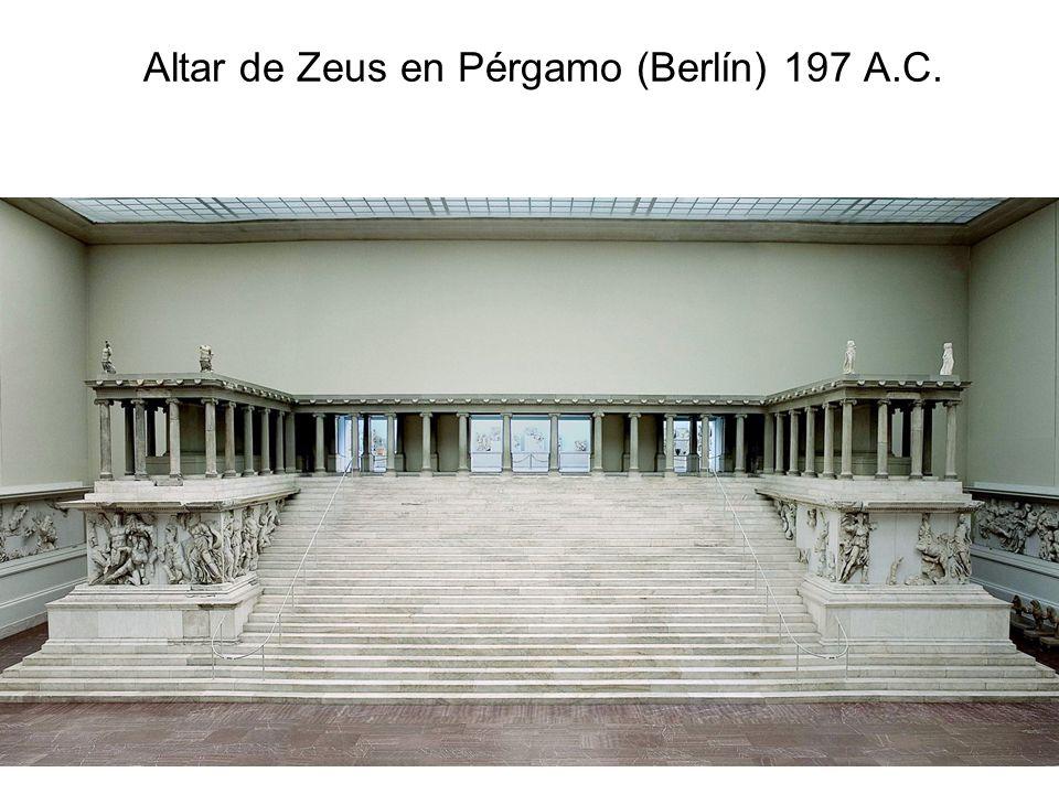 15/02/2014Pilar Morollón IES San Isidro62 Altar de Zeus en Pérgamo (Berlín) 197 A.C.