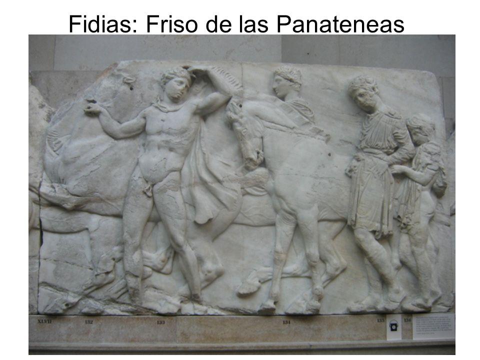15/02/2014Pilar Morollón IES San Isidro98 Fidias: Friso de las Panateneas