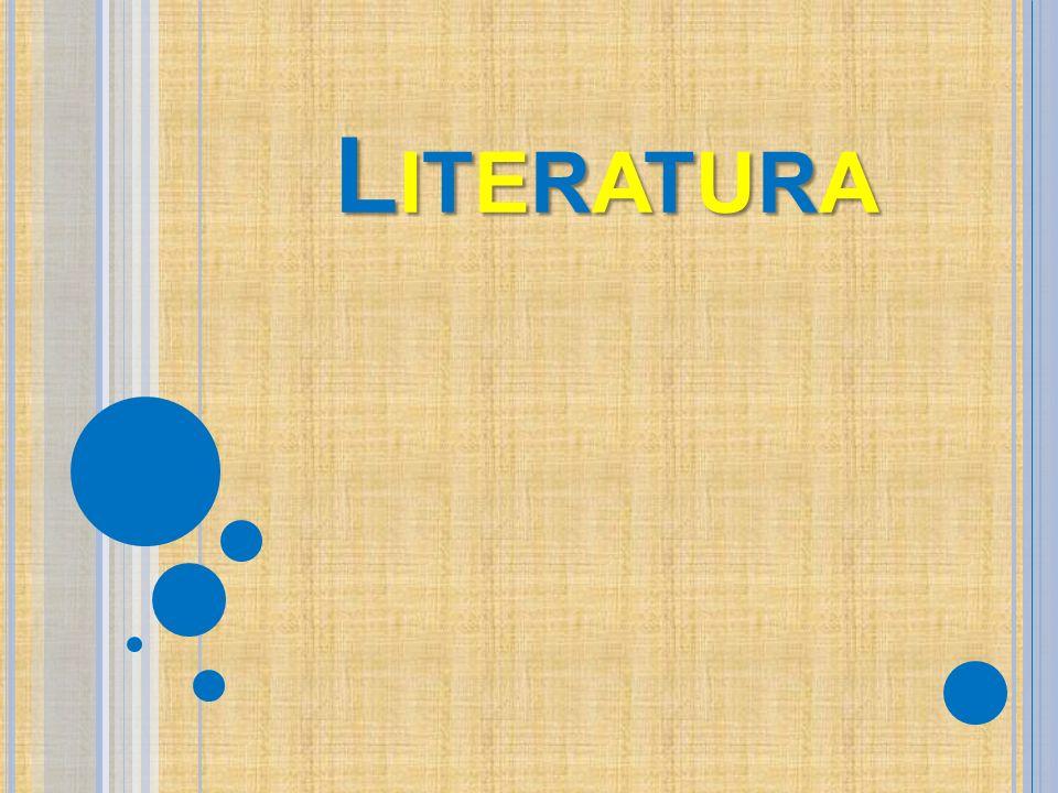 LITERATURALITERATURALITERATURALITERATURA