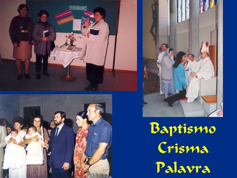 Baptismo Crisma Palavra