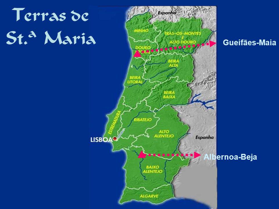 Terras de St.ª Maria Gueifães-Maia Albernoa-Beja