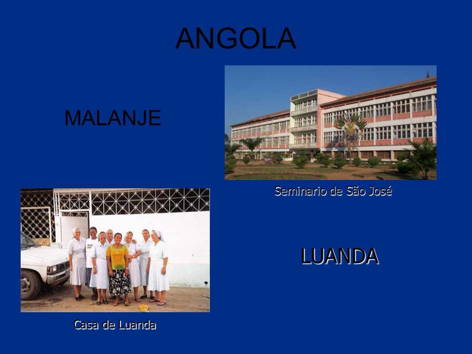 ANGOLA MALANJE LUANDA Seminario de São José Casa de Luanda