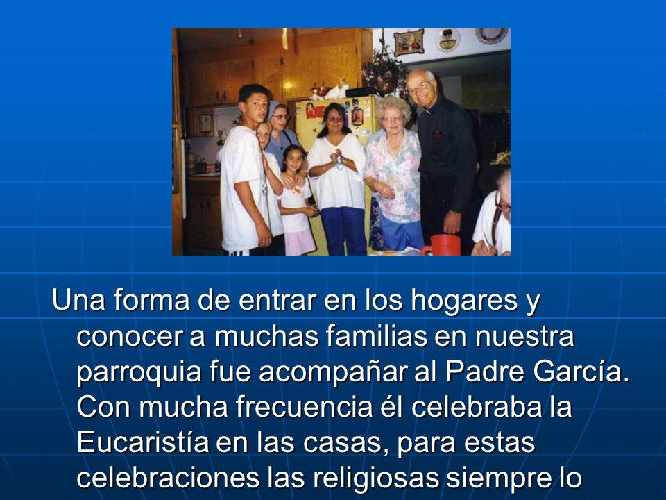 También ayudamos con la Catequesis en español e inglés: Primera Comunión, Confirmación y Catequesis para adultos, incluyendo el RICA el cual ayuda a que cada año se agreguen mas personas a nuestra religión.