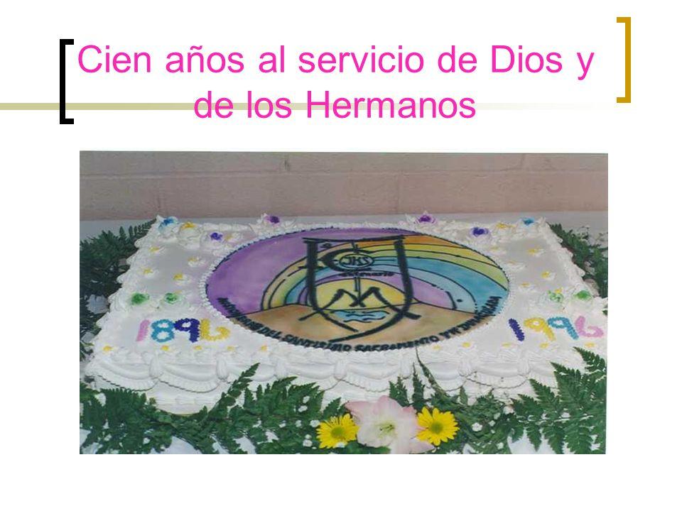 Celebración de los 100 Años de la Congregación