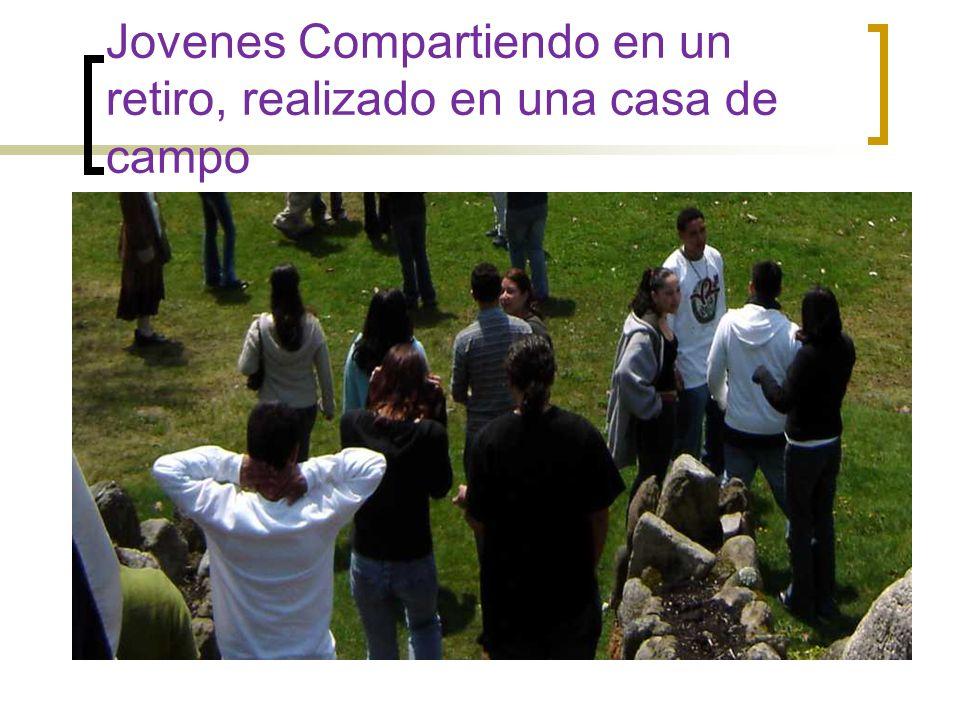 Representación de los Jovenes en el Congreso Eucaristico de la Parroquia