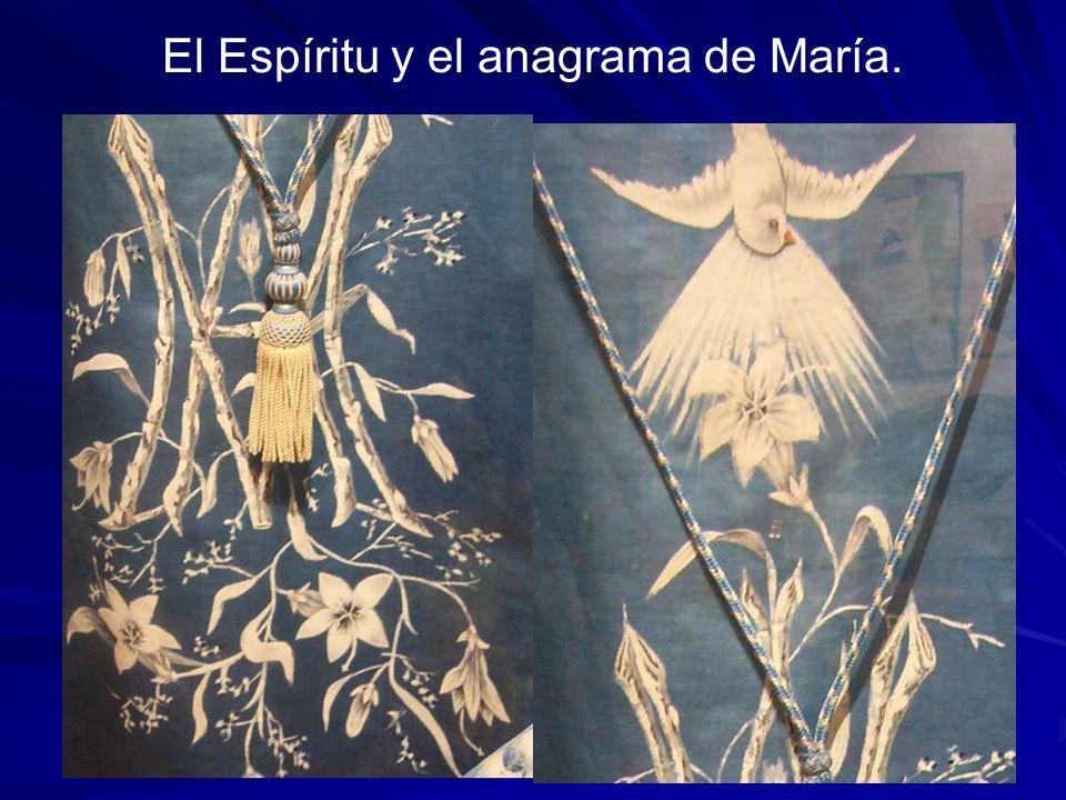 El Espíritu y el anagrama de María.