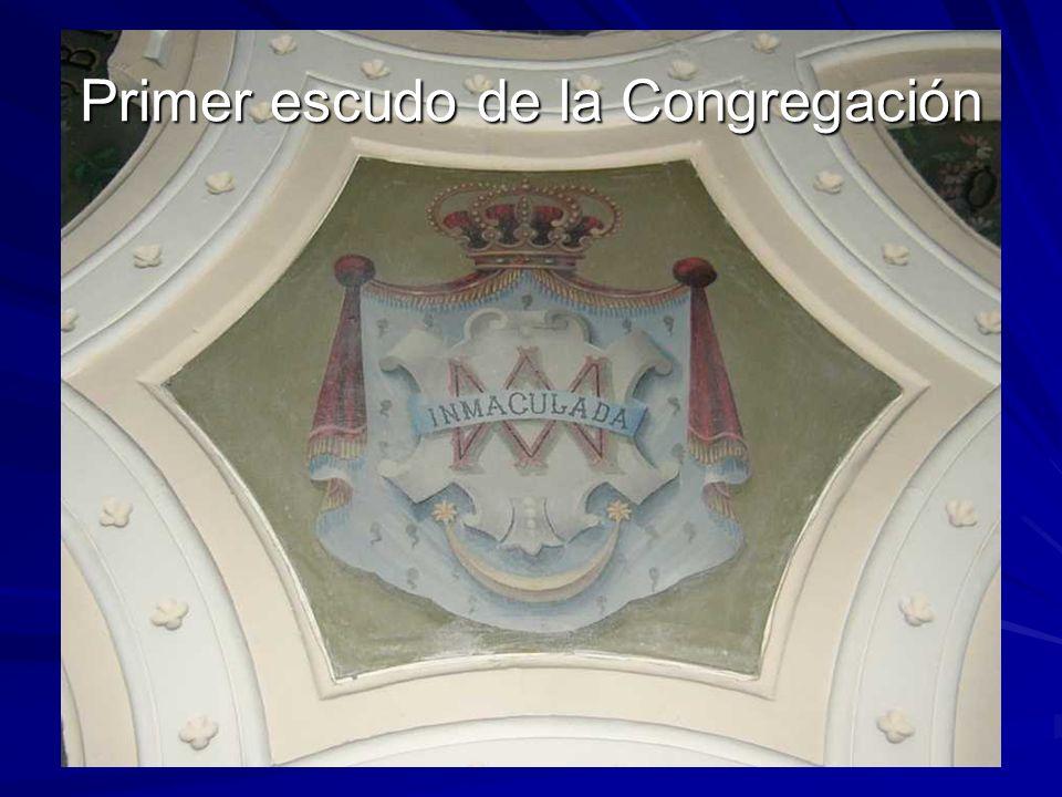 Primer escudo de la Congregación