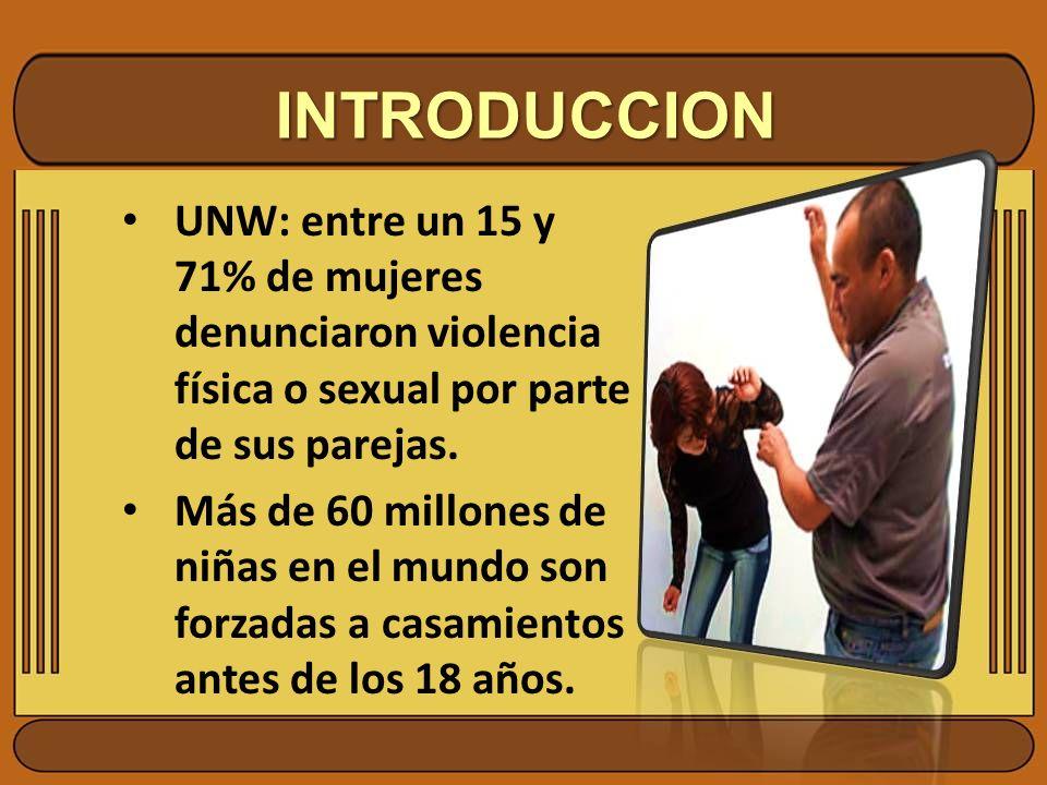 INTRODUCCION ¿Qué injusticias sociales y/ o costumbres conoces en tu comunidad en contra de la mujer.