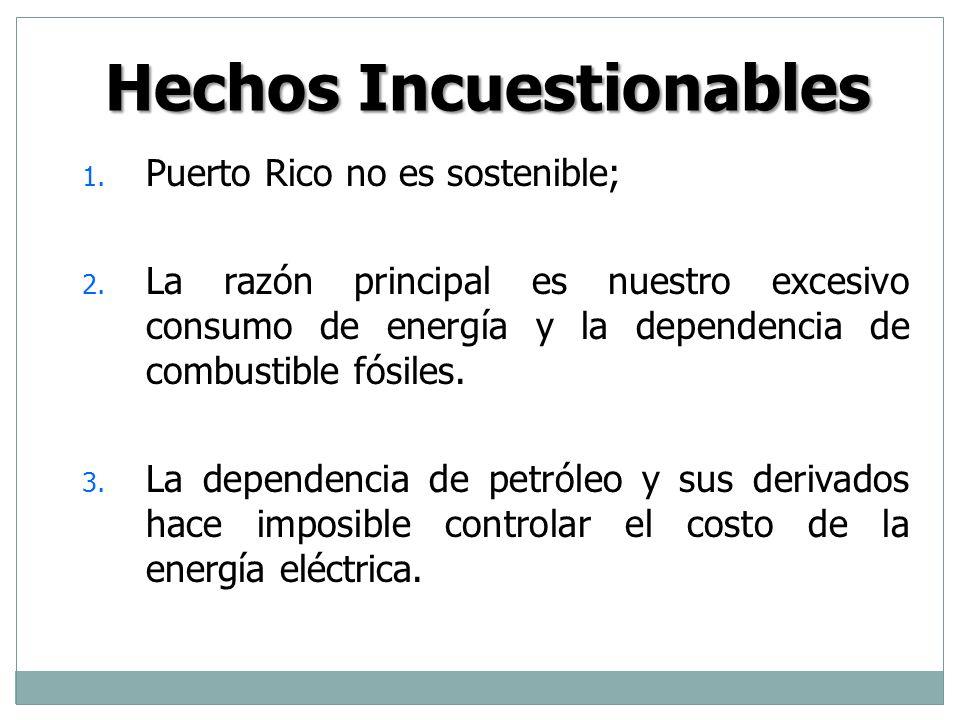 1er Principio Rector El derecho a la energía debe estar garantizado para todos los ciudadanos del país.