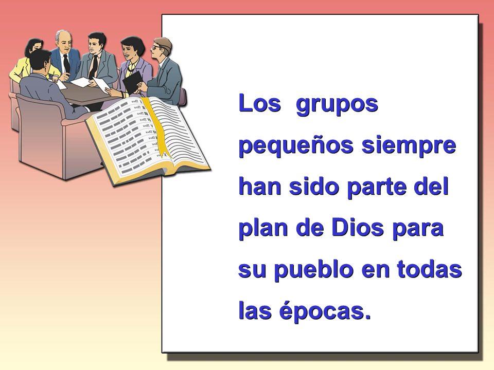 Uno de los objetivos de un Pequeño Grupo es preparar líderes.