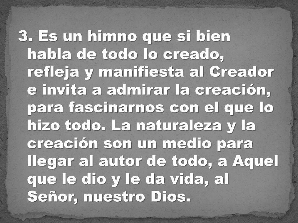 Dios es: Abba Padre - Providente - Cercano - Amigo - Solidario - Compañero.