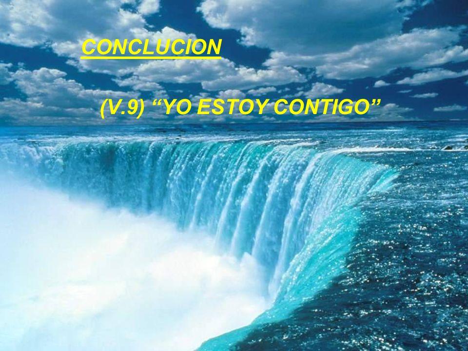 CONCLUCION (V.9) YO ESTOY CONTIGO