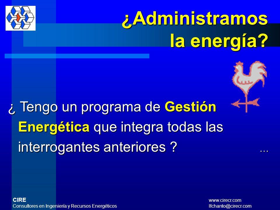¿ Dentro de las políticas de la empresa se tienen algunas relacionadas al uso racional de la energía y que estén sustentadas en un procedimiento ? … ¿