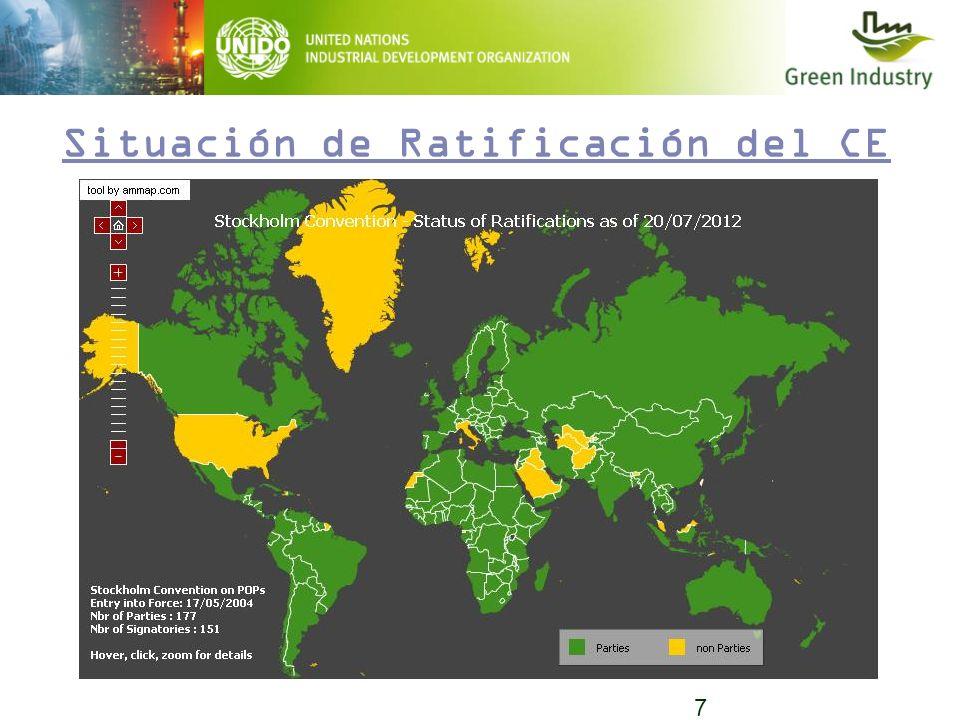 7 Situación de Ratificación del CE