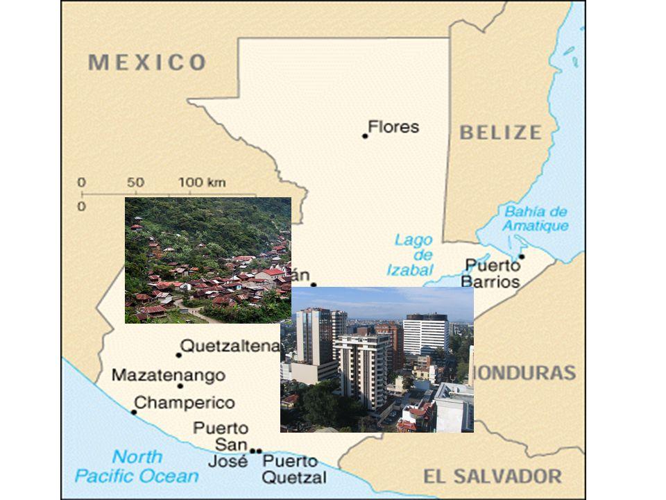 INDICADORES SOCIO ECONOMICOS DEL PAISINDICADORES SOCIO ECONOMICOS DEL PAIS POBLACION: 13.35 millones (2009) 2.3 % CRECIMIENTO ECONÓMICO CRECIMIENTO 2.8 % PNB TOTAL us$ 32.76 BILLONES PIB / CAPITA $ 2,450.00 Índice de Gini 52% PEA AGRICOLA32 % EXPORTACIONES PER CAPITA US$ 600.
