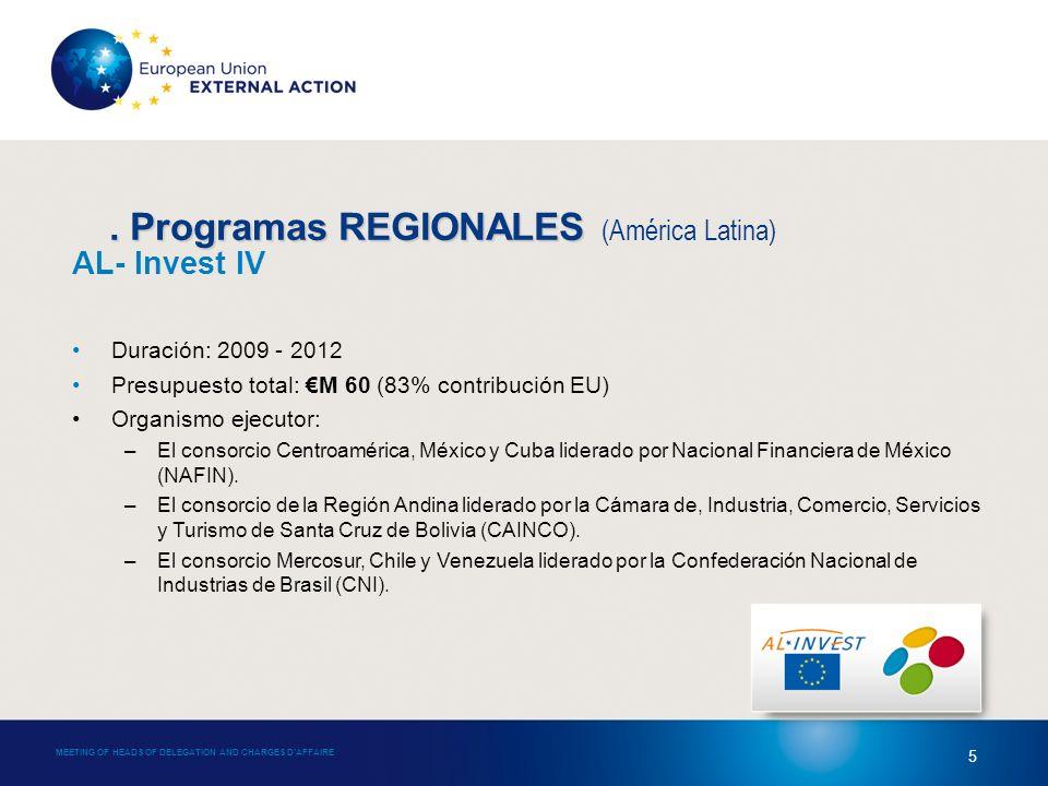 4.Programas REGIONALES 4.
